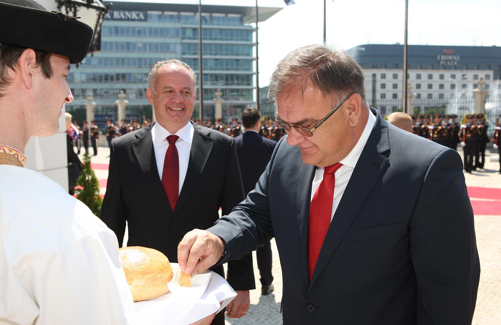 Kiska prijal predsedajúceho Predsedníctva Bosny a Hercegoviny