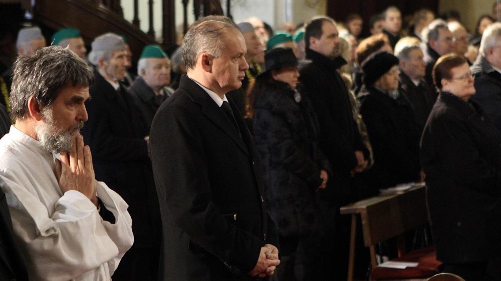 Prezident: Otec Srholec premieňal utrpenie na lásku