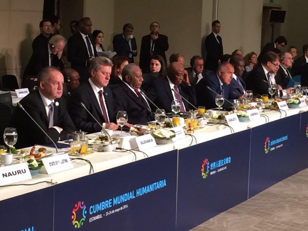 Kiska at Humanitarian Summit: Helping others is noble