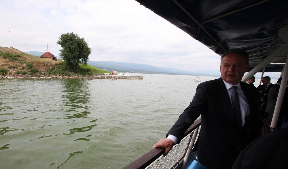 Kiska hovoril na Zemplíne o práci a cestovnom ruchu
