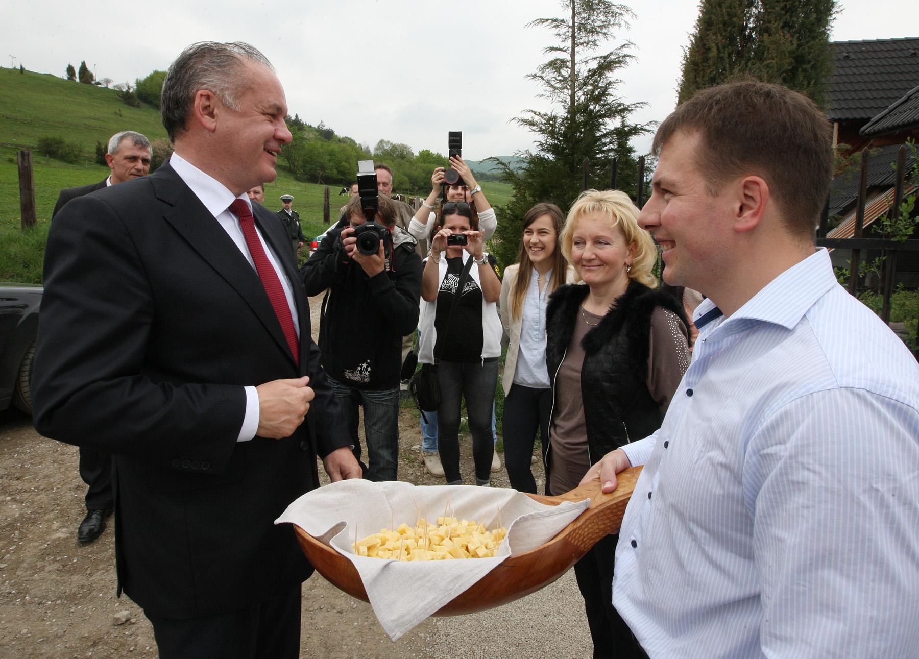 Prezident Kiska v Banskej Bystrici a Slovenskej Ľupči