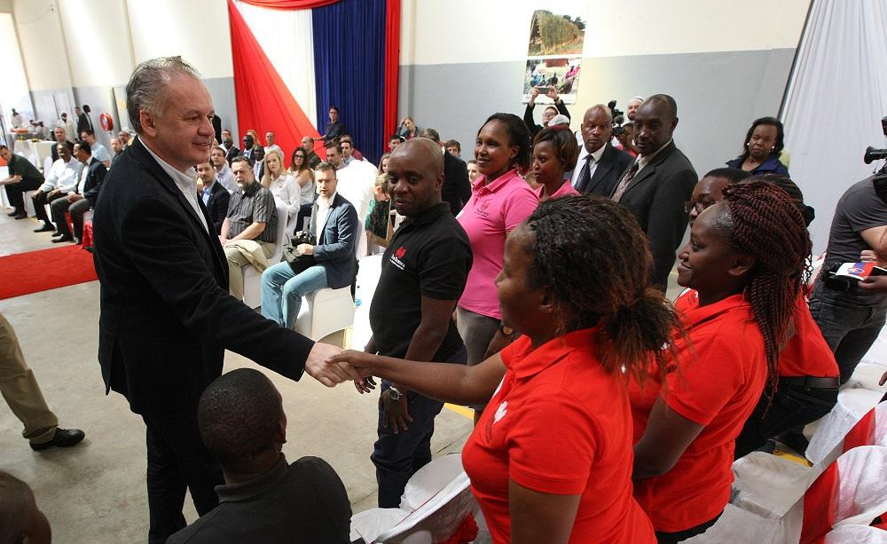 Prezident: V Keni je množstvo talentovaných mladých ľudí