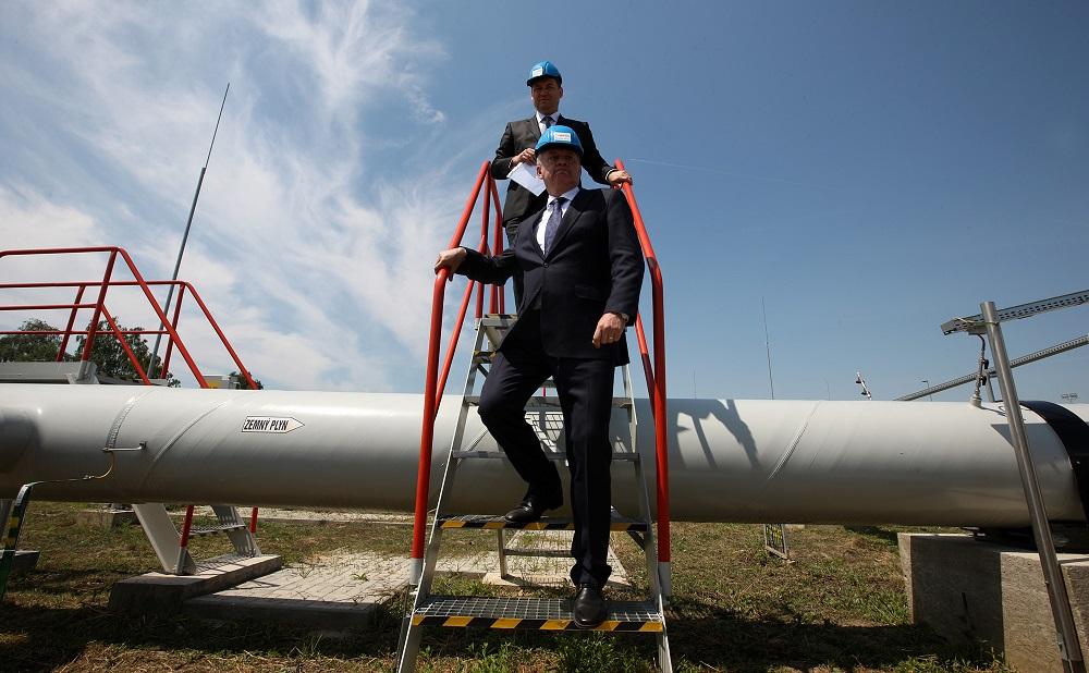 Prezident je na pracovnej návšteve Zemplína, diskutoval o Nord Streame II