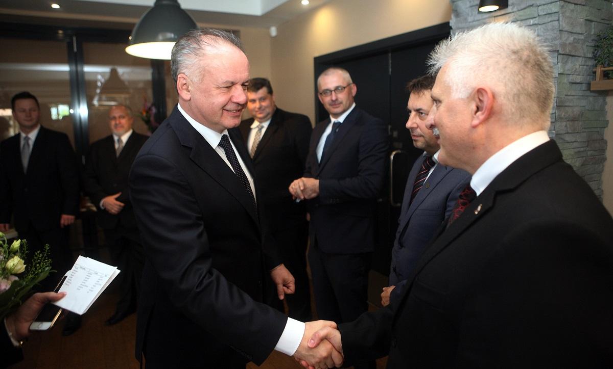 Andrej Kiska rokoval vo Zvolene s primátormi a starostami