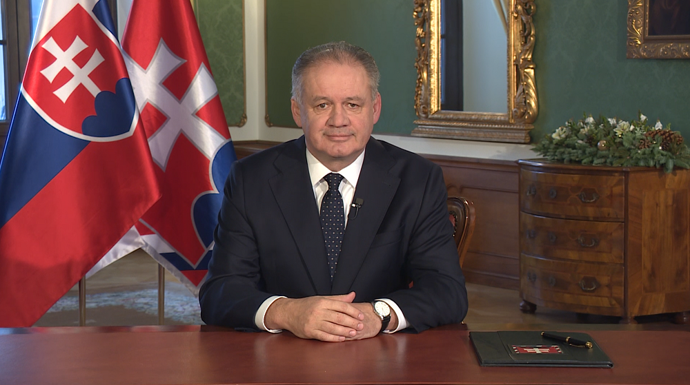 Novoročný príhovor 2019 prezidenta Andreja Kisku