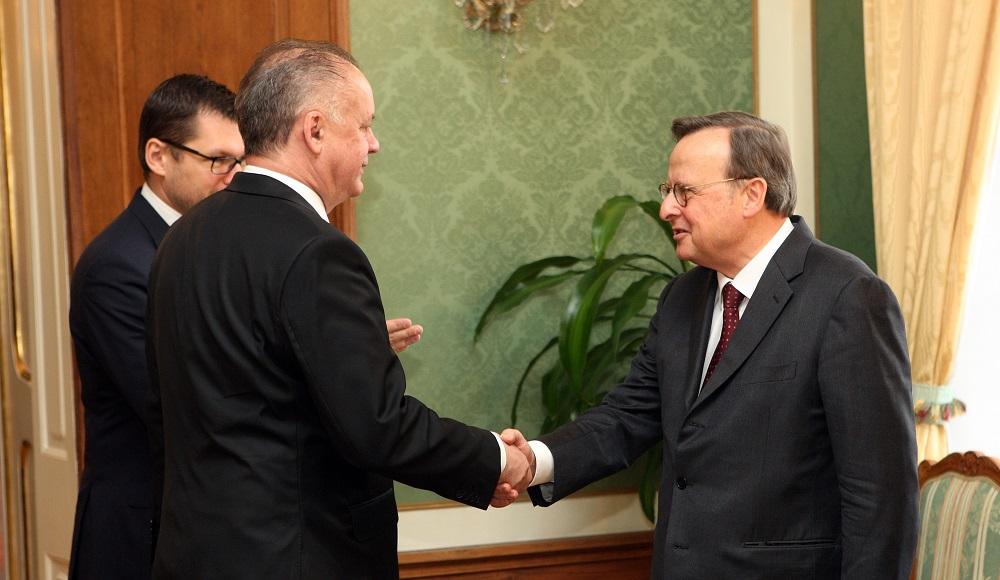 Prezident diskutoval s predsedom Európskeho súdu pre ľudské práva