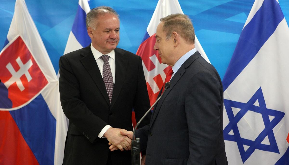Prezident Kiska rokoval s izraelským premiérom Netanjahuom