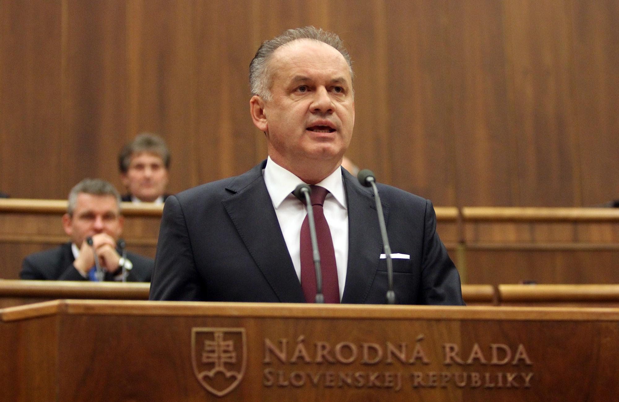 Prezident vystúpil s príhovorom pred poslancami v Národnej rade