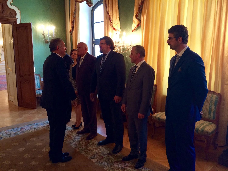 Prezident prijal zástupcov komory advokátov