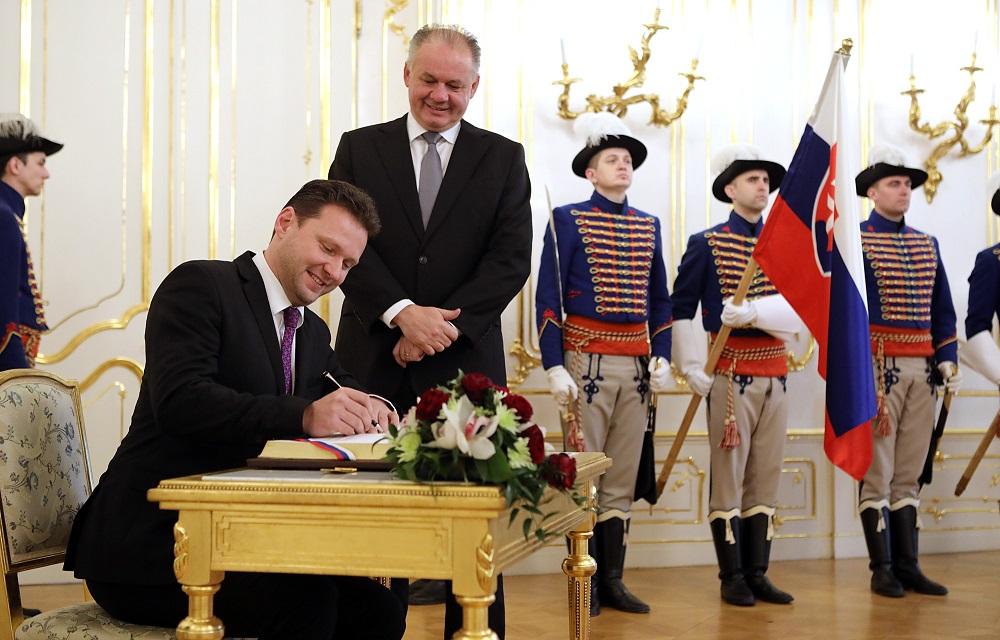 Prezident prijal predsedu Poslaneckej snemovne Parlamentu ČR
