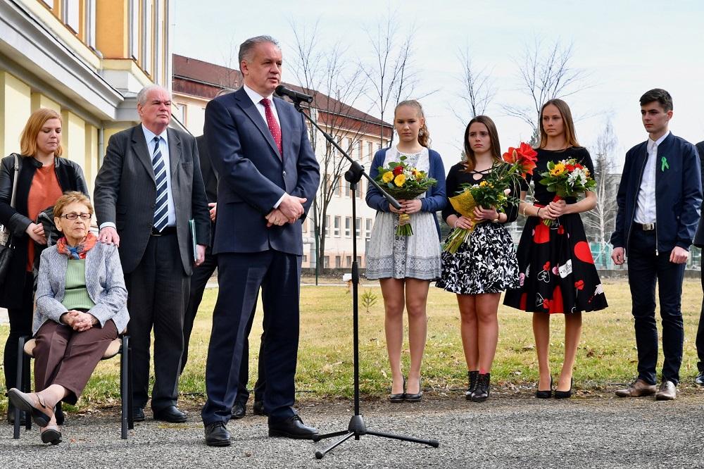 Prezident si pripomenul 75. výročie transportu do koncentračného tábora