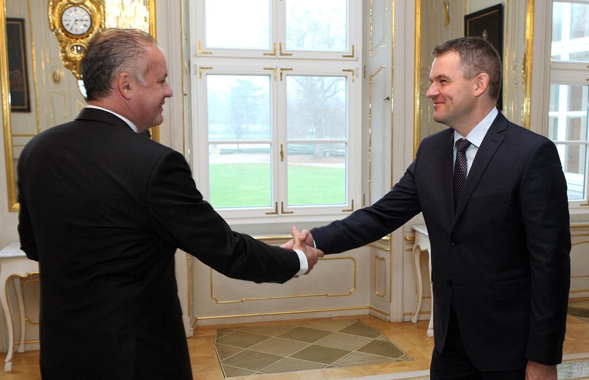 Prezident sa stretol s predsedom Národnej rady