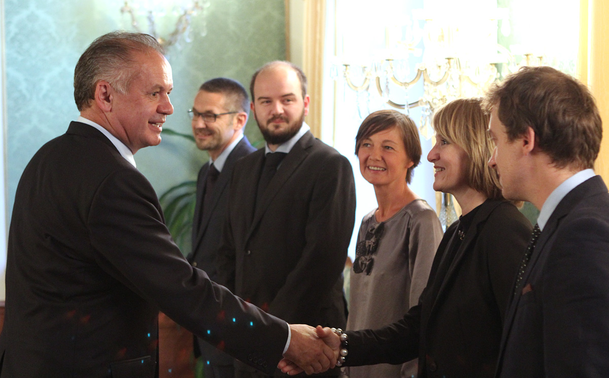 Andrej Kiska prijal iniciátorov Výzvy k ľudskosti