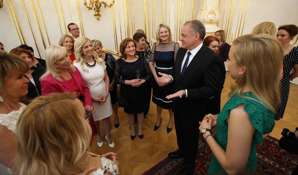 Prezident prijal nominantky ankety Slovenka roka