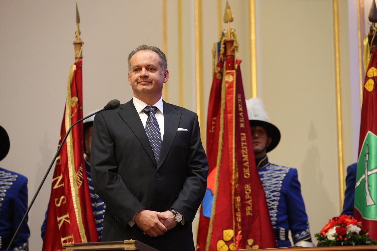 Obama poslal Kiskovi telegram pre Slovensko ku Dňu Ústavy