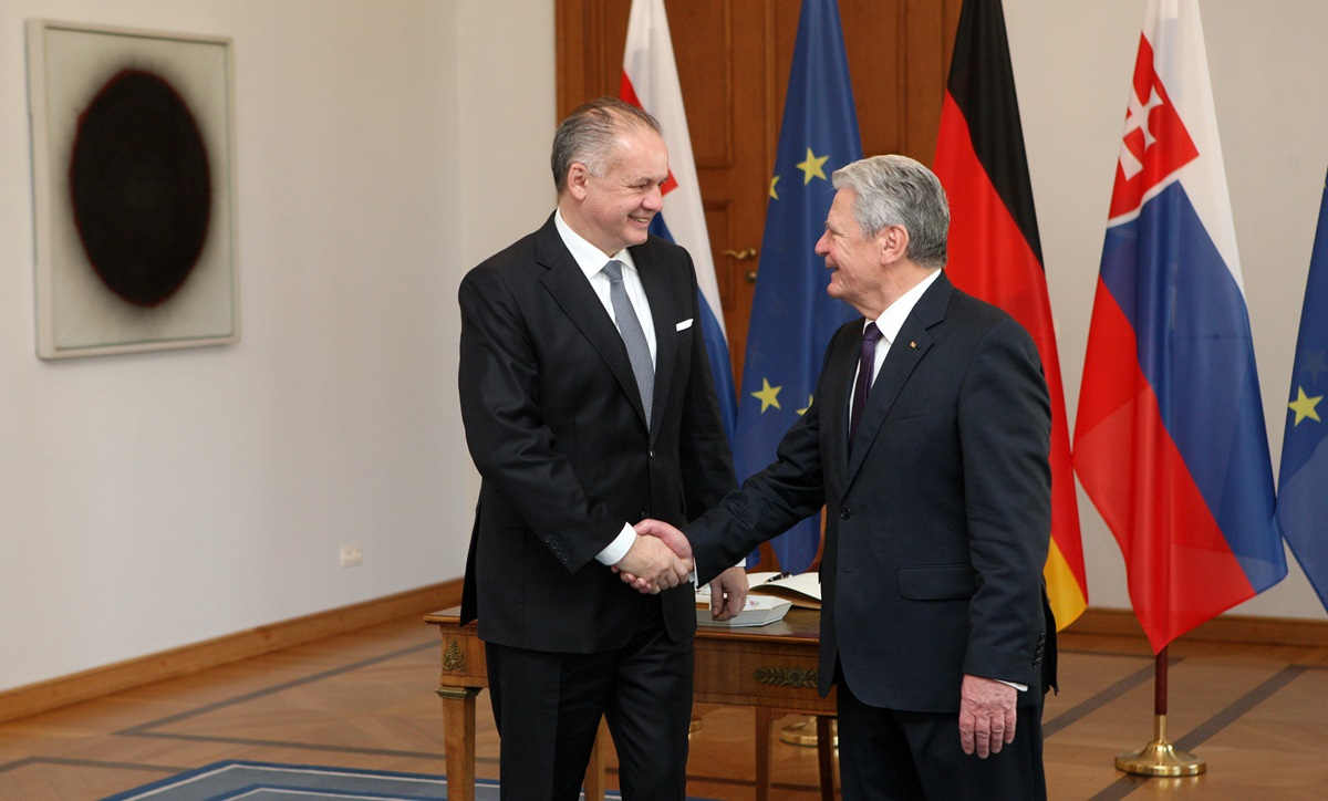 Andrej Kiska rokoval v Berlíne s prezidentom Gauckom