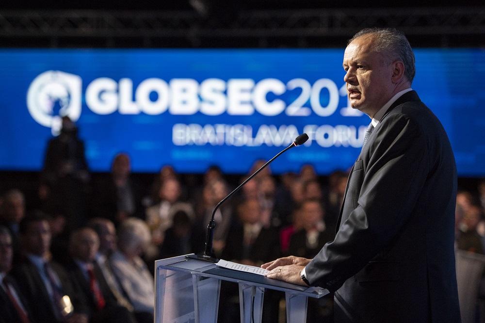 Kiska na Globsecu: Bezohľadnosť podrýva demokraciu