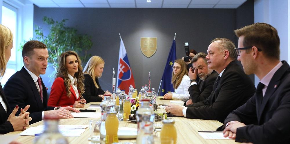 Prezident navštívil Úrad pre verejné obstarávanie
