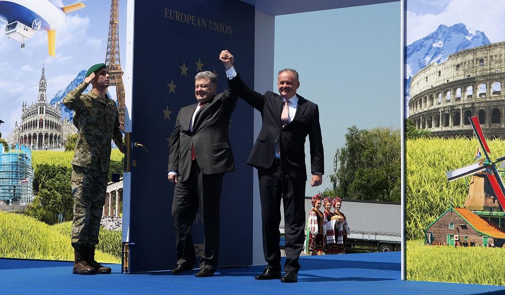 Kiska zablahoželal Ukrajincom k Európskej únii bez víz