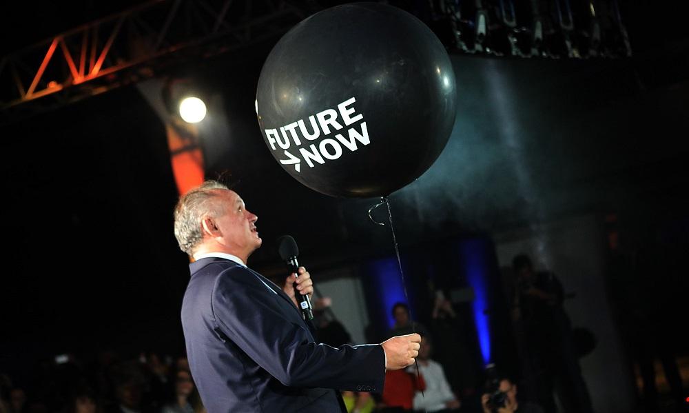 Prezident na konferencii FutureNow