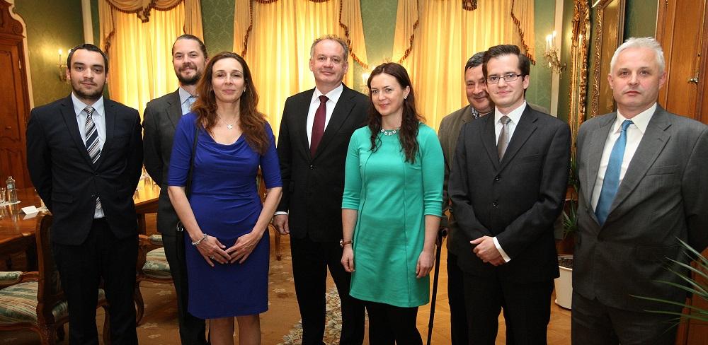 Prezident Kiska diskutoval s humanitárnymi organizáciami