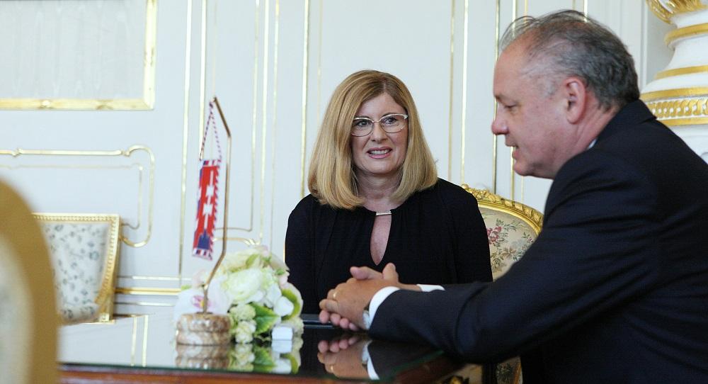 Kiska určil ministerku Matečnú, aby dočasne viedla rezort školstva