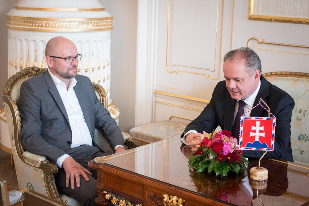 Sulík požiadal prezidenta o stretnutie, diskutovali o kauze Bašternák