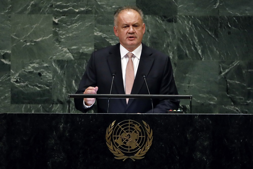 President Kiska at the UN: We have to cooperate