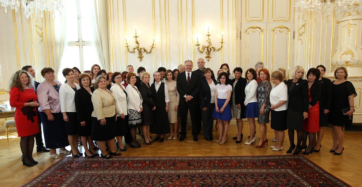 Prezident Kiska prijal držiteľky ocenenia Biele srdce