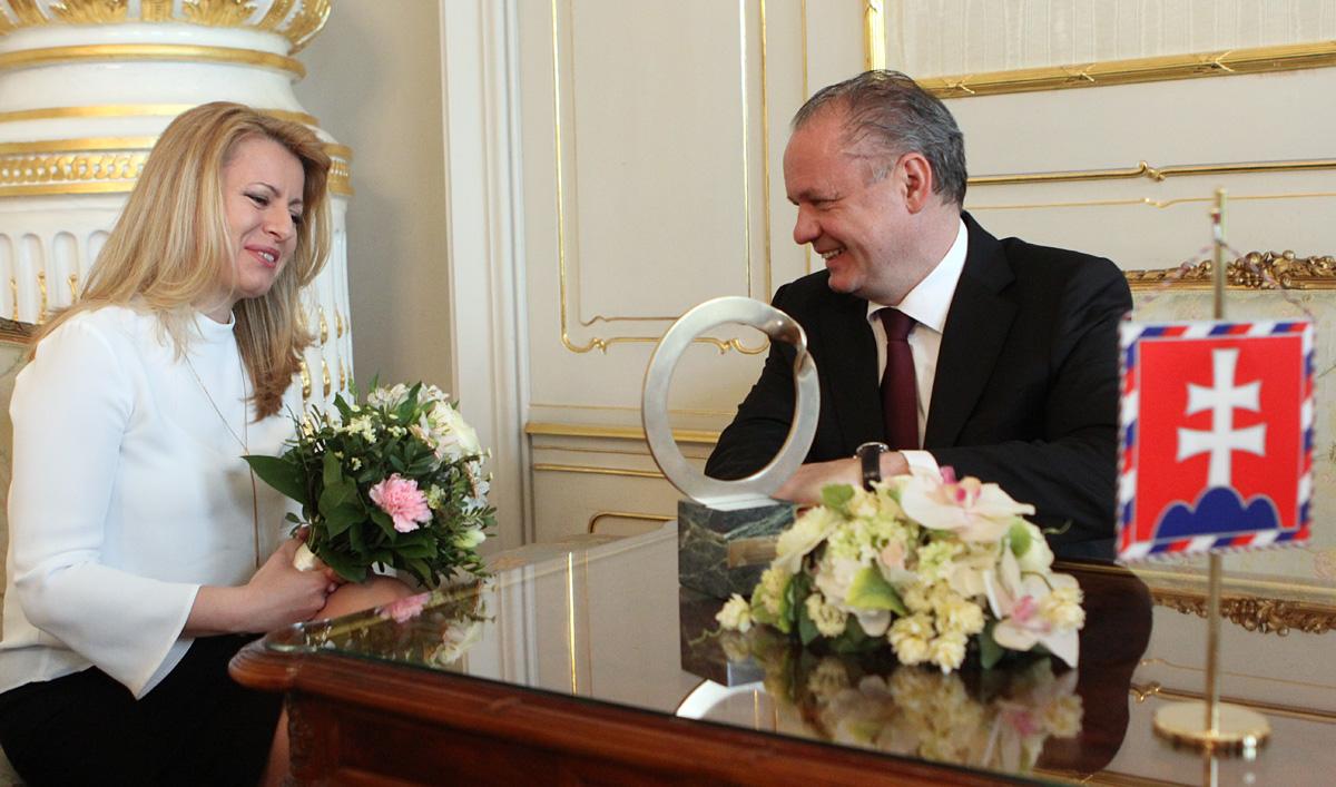 Prezident zablahoželal držiteľke Goldmanovej ceny Zuzane Čaputovej