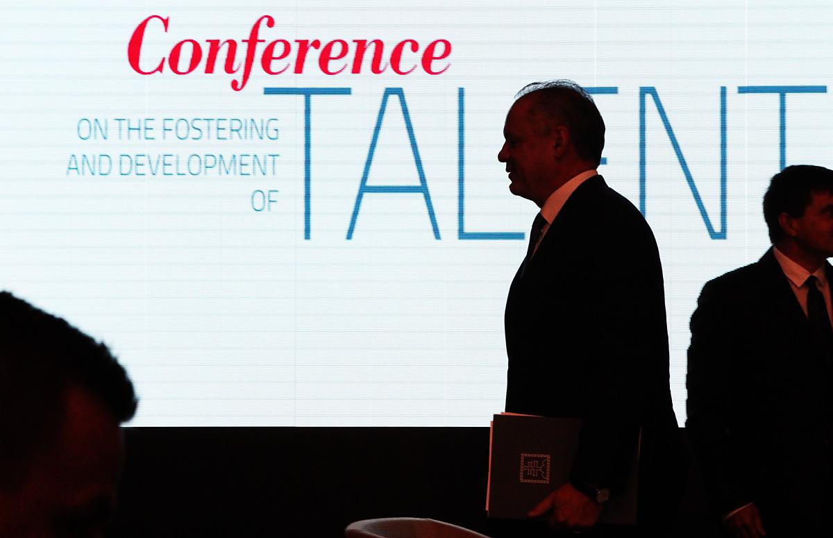 Prezident Kiska: Každý nerozvinutý talent je stratenou šancou