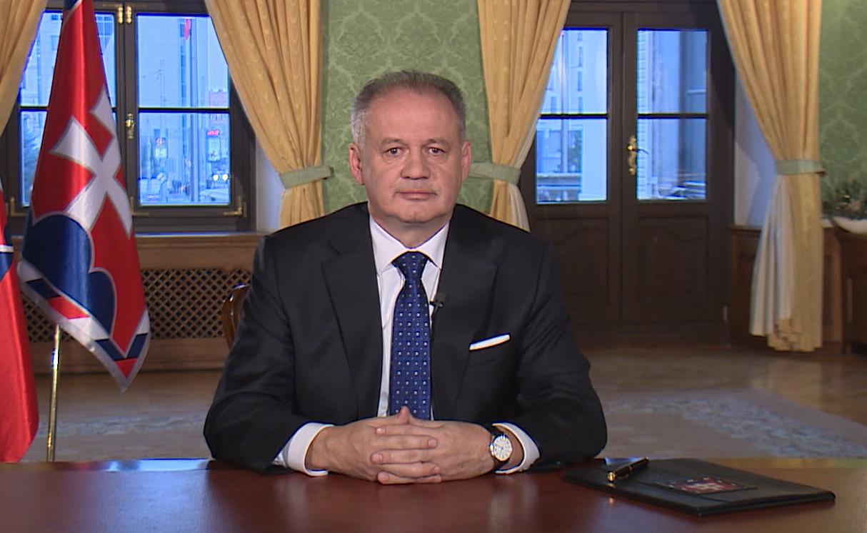 Prezident v novoročnom príhovore: Snažme sa o lepšie Slovensko