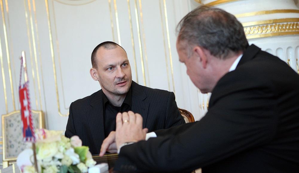 Prezident prijal končiaceho šéfa vyšetrovacieho tímu Gorila