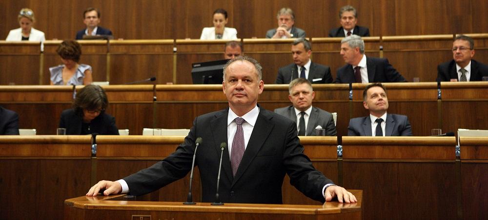 Prezident Kiska vystúpil v Národnej rade so správou o stave republiky