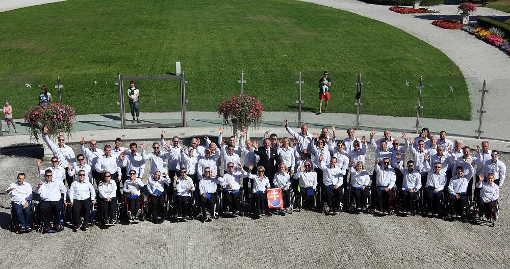Prezident prijal sľub paralympionikov