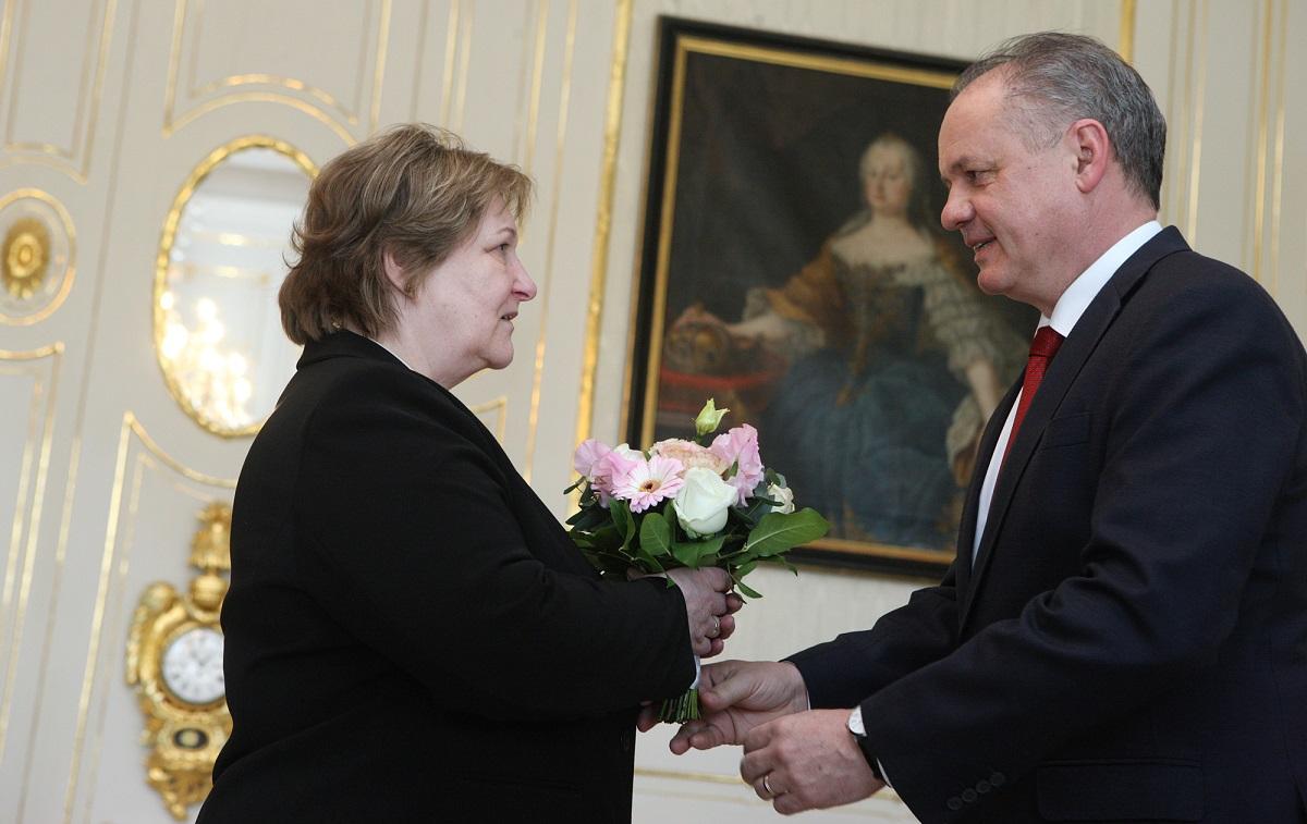 Prezident sa poďakoval ombudsmanke: Vaša práca mala zmysel