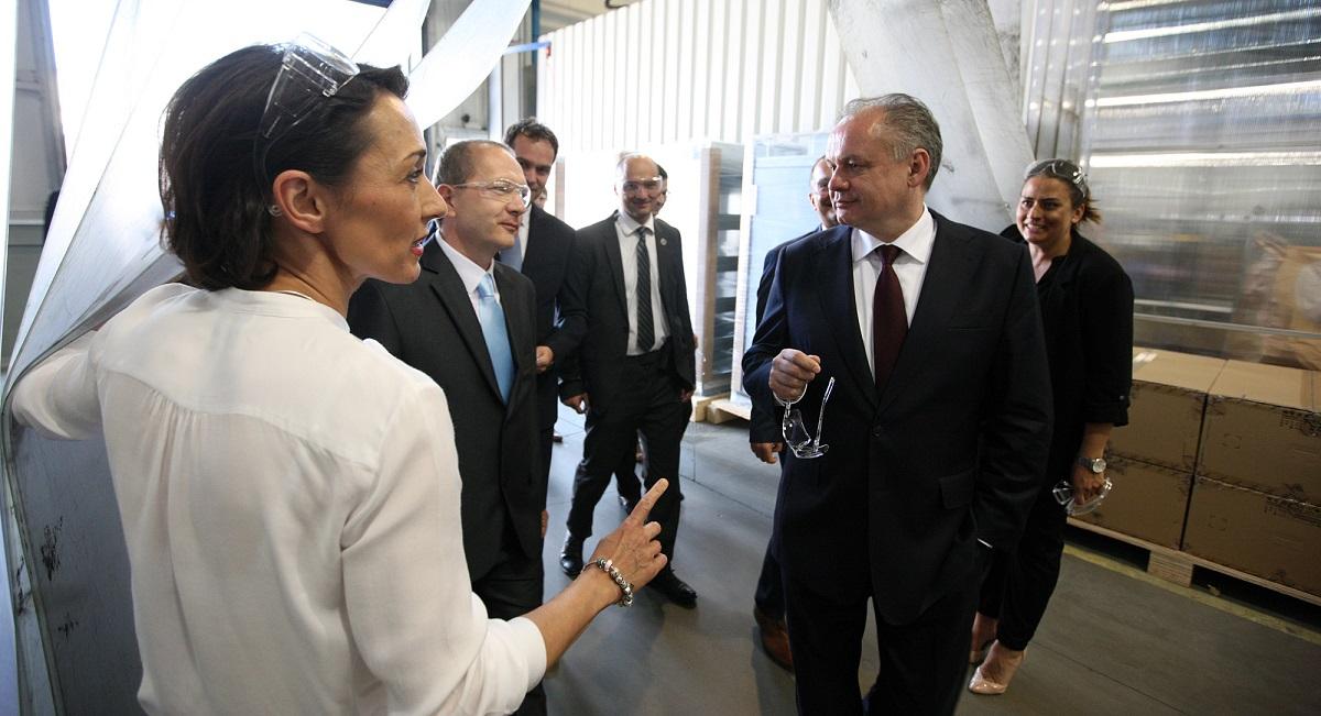 Prezident navštívil Nové Mesto a Starú Turú