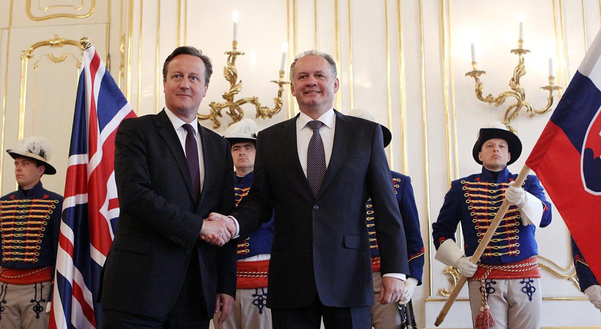 Kiska prijal Camerona: Británia je pre Európu kľúčová