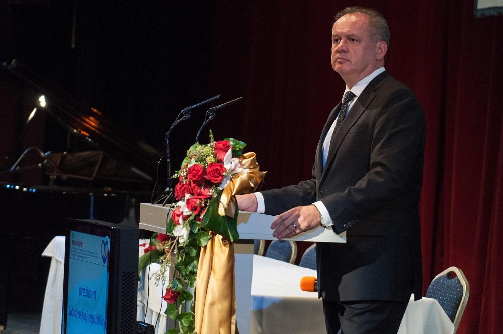 Prezident na kardiologickom kongrese: Prispejte k zmene