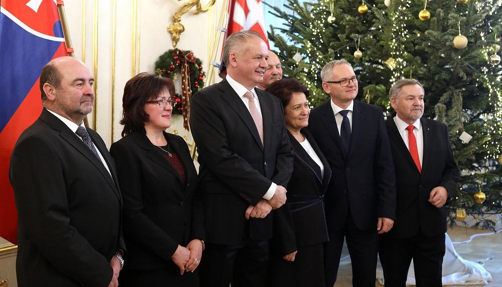 Prezident prijal zástupcov Združenia miest a obcí Slovenska