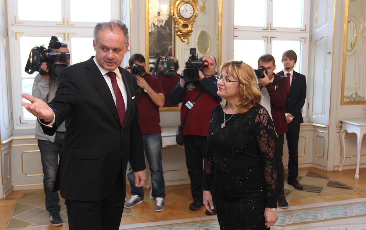 Kiska prijal predsedníčku Súdnej rady a vyjadril sa k súdnictvu
