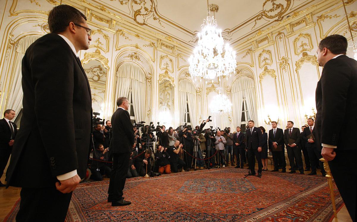 Kiska vymenoval novú vládu: Musíte dosiahnuť významné výsledky
