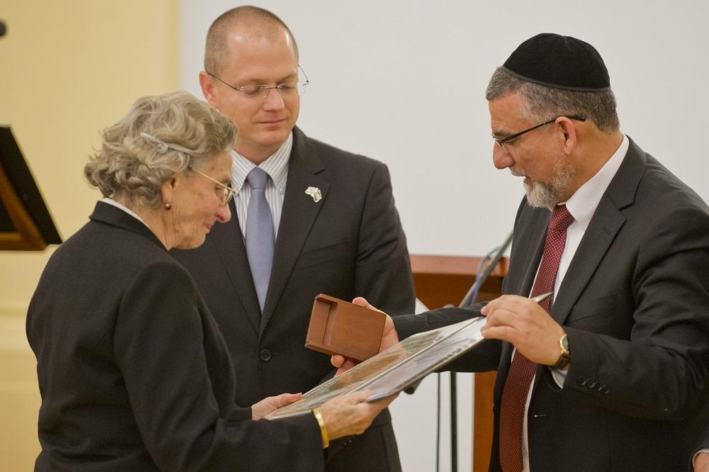 Andrej Kiska vyslovil uznanie Spravodlivým medzi národmi