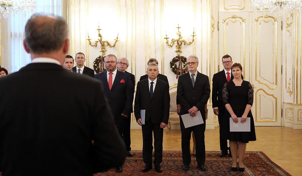 Prezident vymenoval profesorov vysokých škôl
