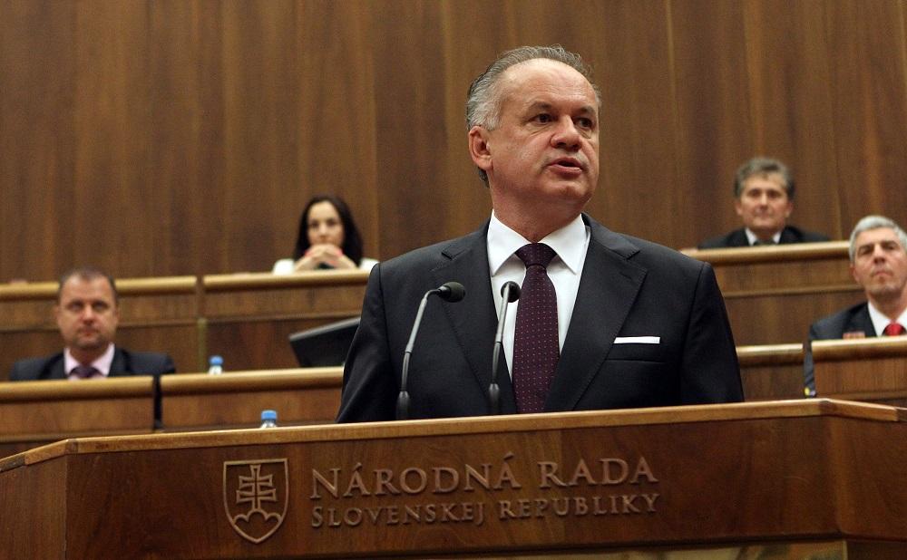 Prezident Kiska vystúpil v parlamente so správou o stave republiky