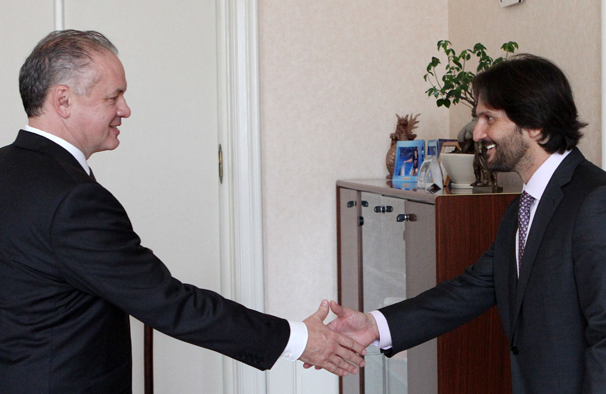 Prezident Kiska rokoval s ministrom vnútra Kaliňákom