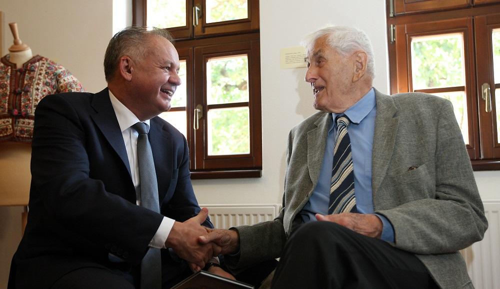 Prezident navštívil Modru, stretol sa aj s keramikárom Bizmayerom
