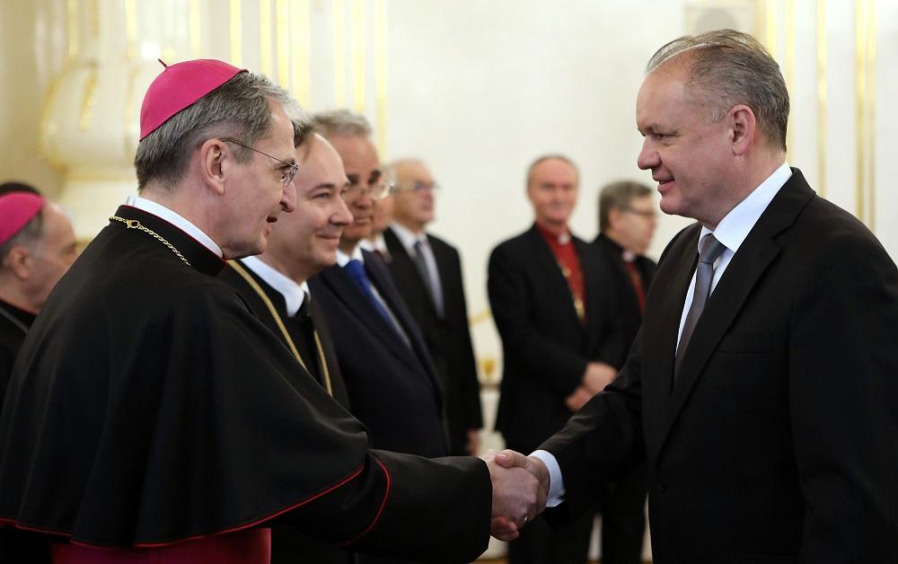Prezident pozval zástupcov cirkví na novoročné stretnutie