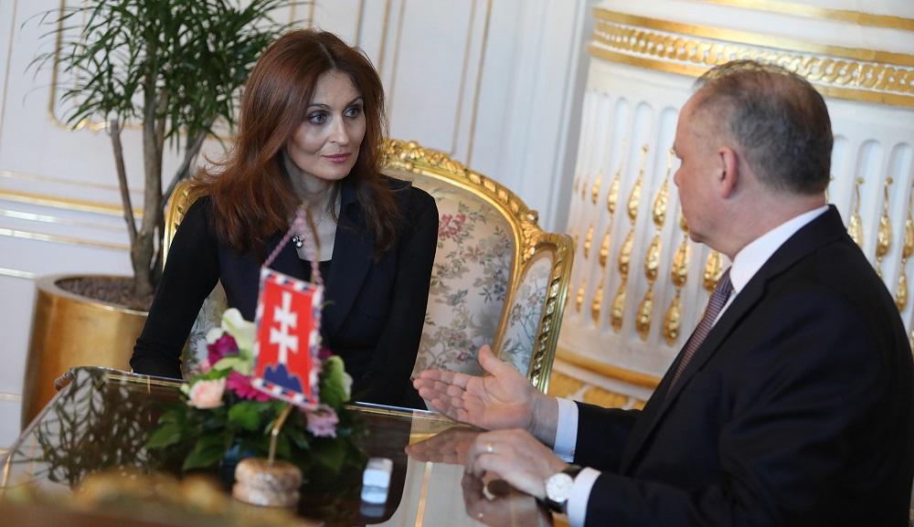 Prezident rokoval s kandidátmi na ministrov