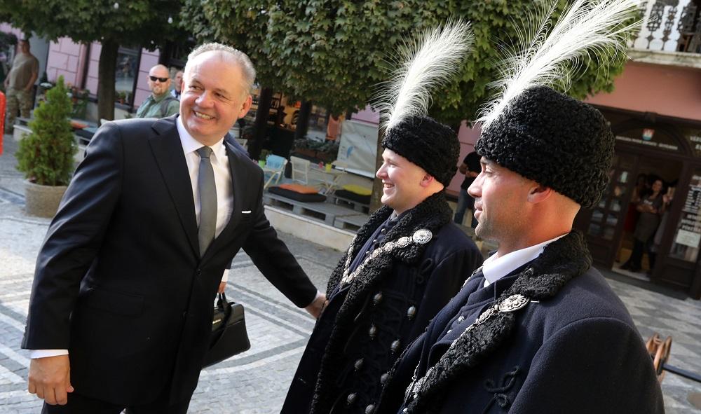 Prezident navštívil Komárno